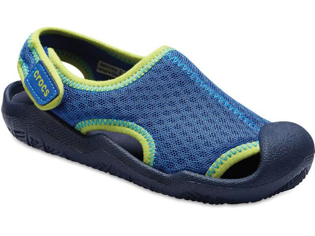 Crocs Swiftwater - Sandales Enfant - bleu